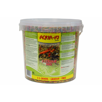 AQUA-KI STICKS MIX 3 COLOURS 9 L+ 1 L FREE